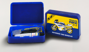 Vulcanization kit for motorcycles